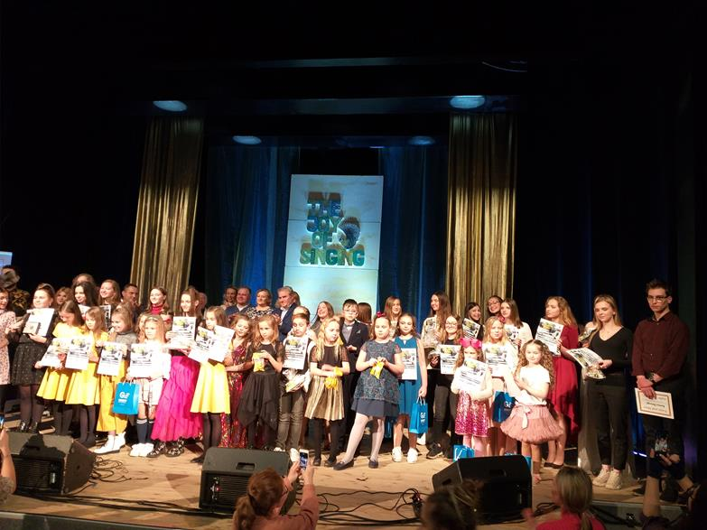 Festiwal Piosenki The Joy Of Singing – 2020r.