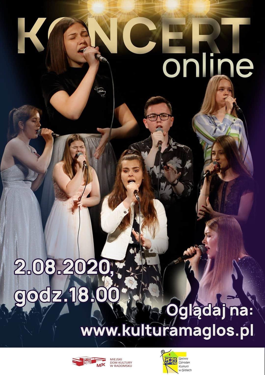"""Koncert """" Festiwale- festiwale"""" online – 2020r."""