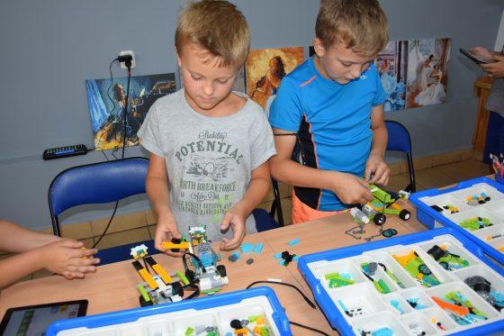 Warsztaty robotyki z klocków LEGO